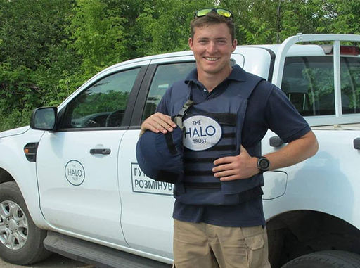Raising Money for the Halo Trust
