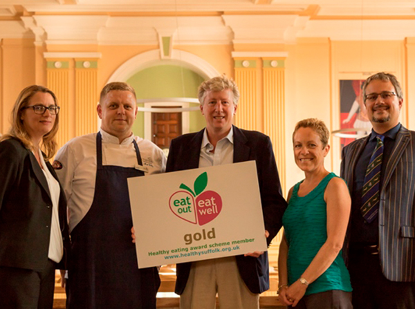Gold Award for Chartwells