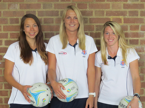 New Netball Coaches