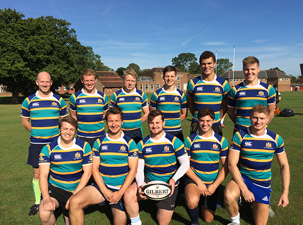 RHS Old Boys win charity sevens tournament