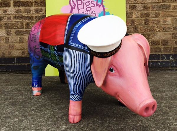 'Pigs Gone Wild' at RHS