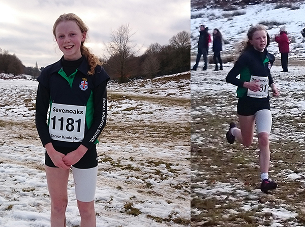 Snowy Sevenoaks Cross Country