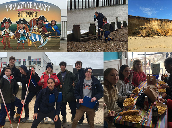 Southwold Geography Trip